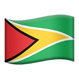 Guyana Apple Emoji