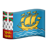 Saint-Pierre a Miquelon Apple Emoji