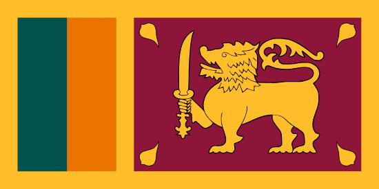 Šrílanská vlajka