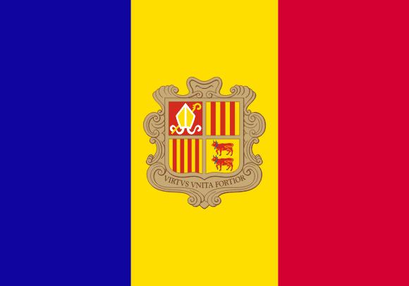 Vlajka: Andorra