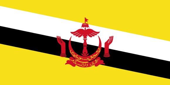 Vlajka: Brunej