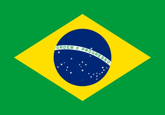 Vlajka: Brazílie