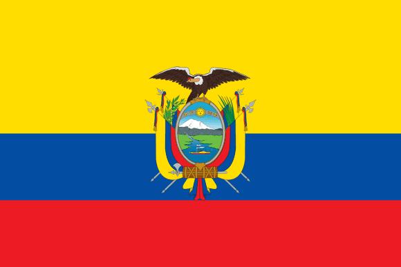Vlajka: Ekvádor