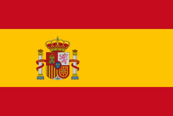 Vlajka: Španělsko