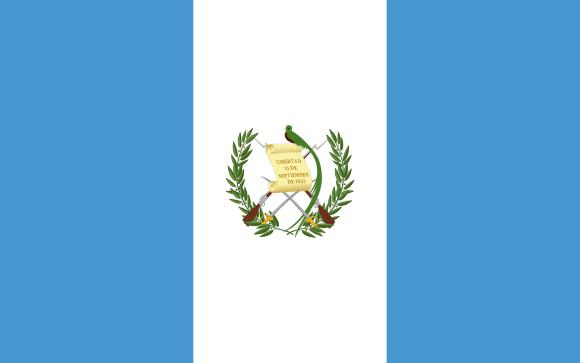 Vlajka: Guatemala
