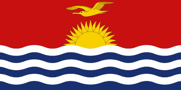 Vlajka: Kiribati
