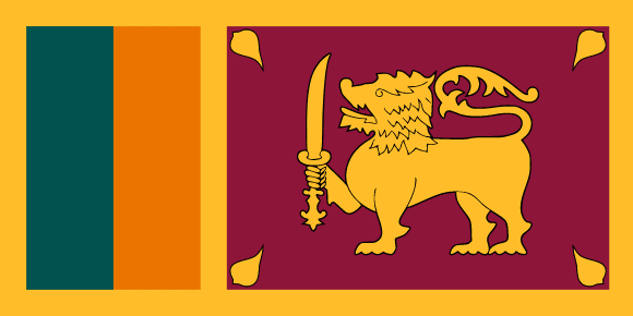 Vlajka: Srí Lanka