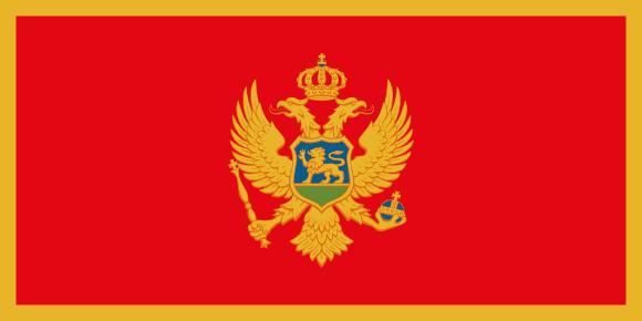 Vlajka: Černá Hora