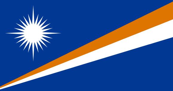 Vlajka: Marshallovy ostrovy
