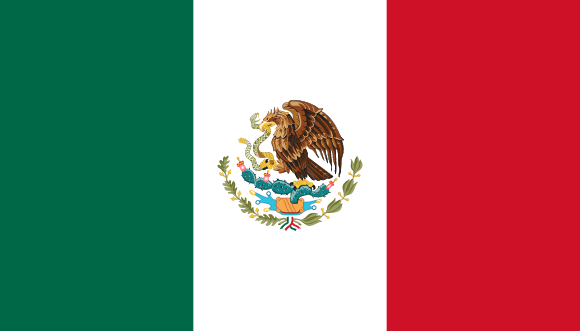 Vlajka: Mexiko
