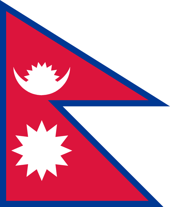 Vlajka: Nepál