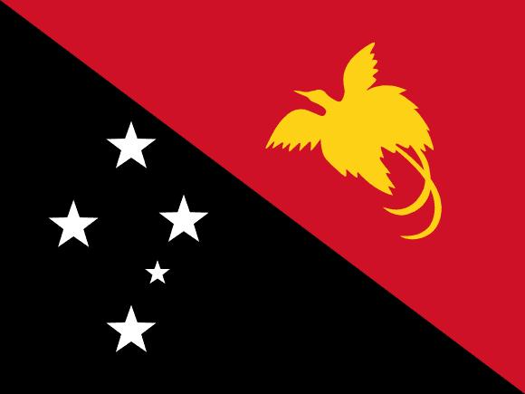 Vlajka: Papua-Nová Guinea