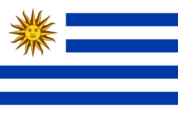 Vlajka: Uruguay