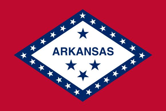 Vlajka: Arkansas