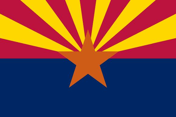 Vlajka: Arizona