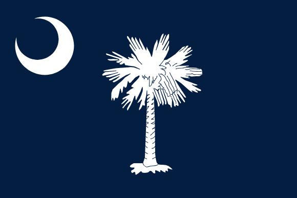Vlajka: Jižní Karolína