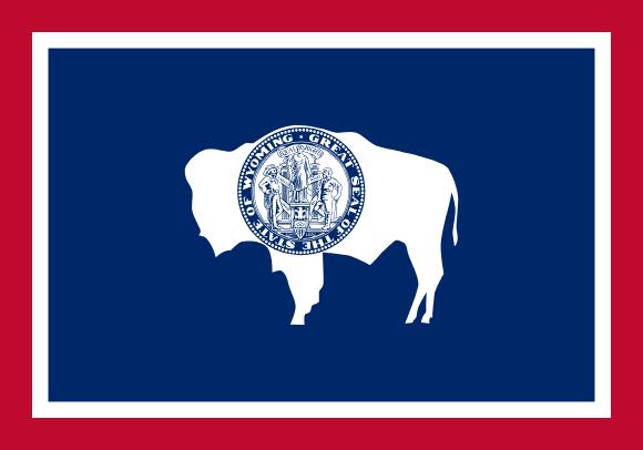 Vlajka: Wyoming
